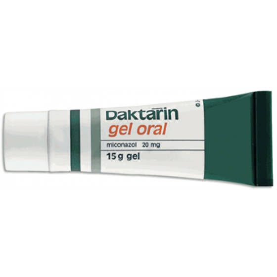 DAKTARIN GEL OR 2% 30 G