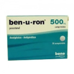 BEN U RON COMP 500 MG X 20