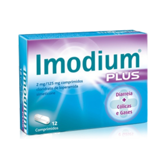 IMODIUM PLUS COMP 2+125 MG X 12