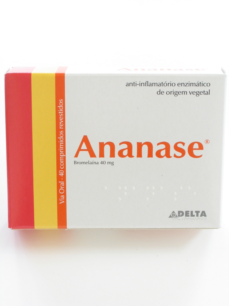 ANANASE 100 COMP REV 40 MG X 40