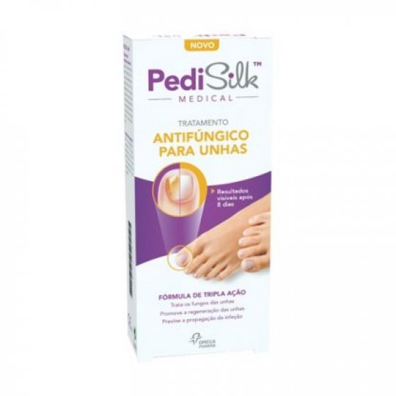 PEDISILK MEDICAL TUBO C/APLIC FUNG UNH7ML
