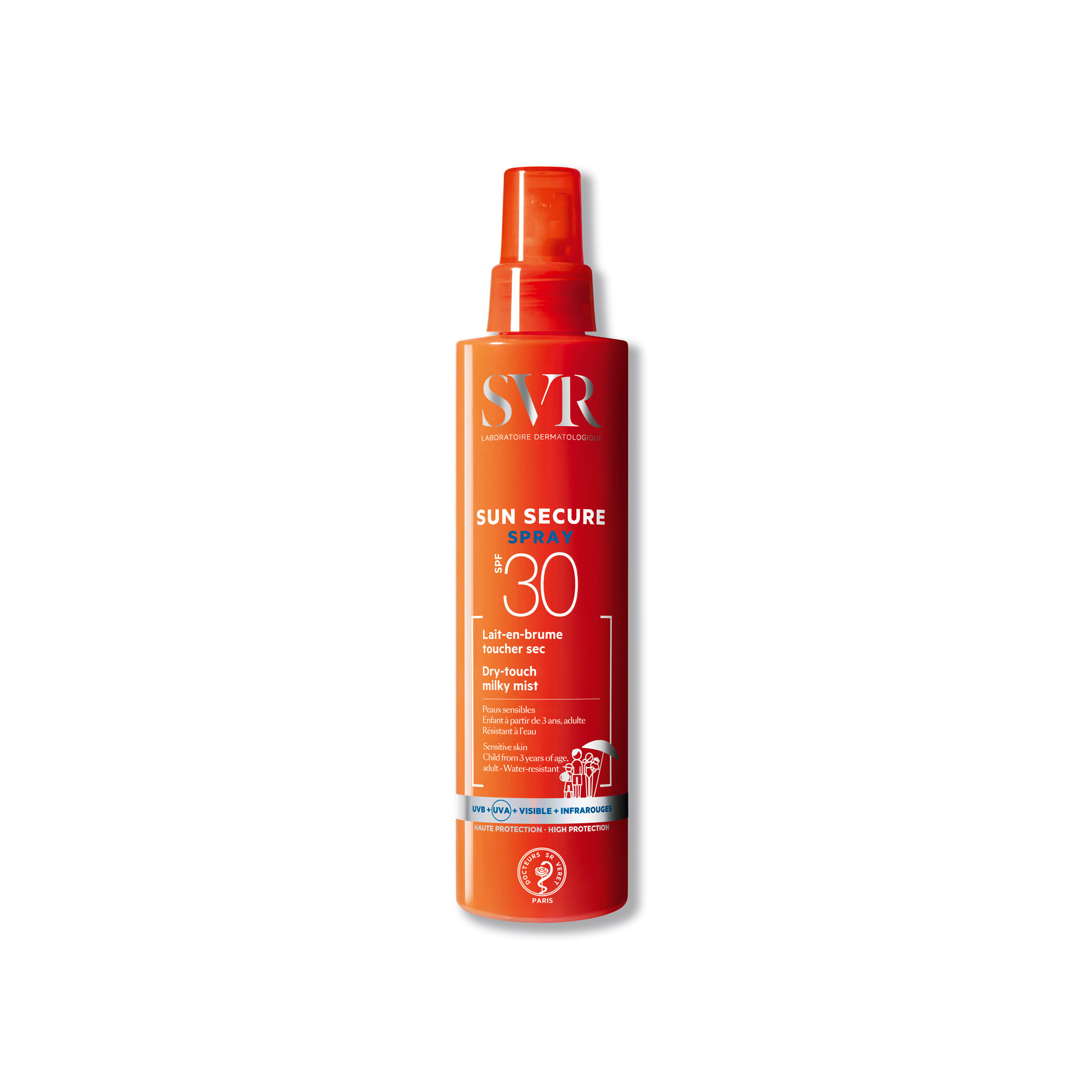 SVR SUN SECURE SPRAY SPF30 200ML