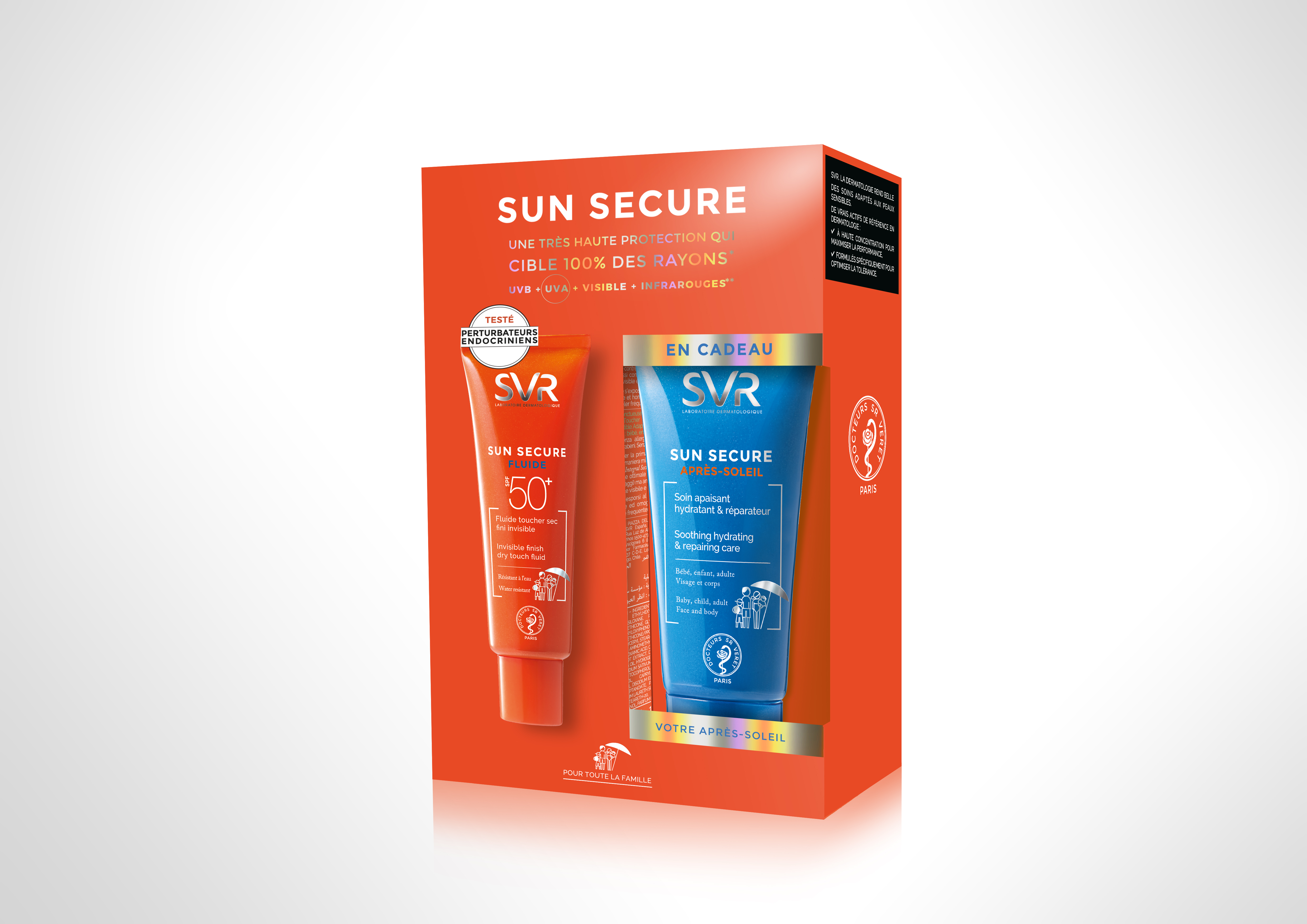 SVR SUN SECURE FL SPF50 50ML+OF AP SOL 50ML