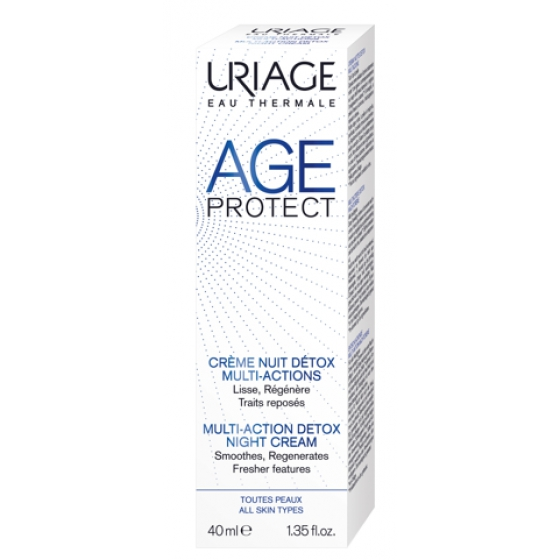 URIAGE AGE PROT CR NOITE DETOX 40ML