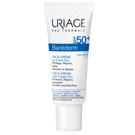 URIAGE BARIEDERM  CICA CR SPF50+ 40ML
