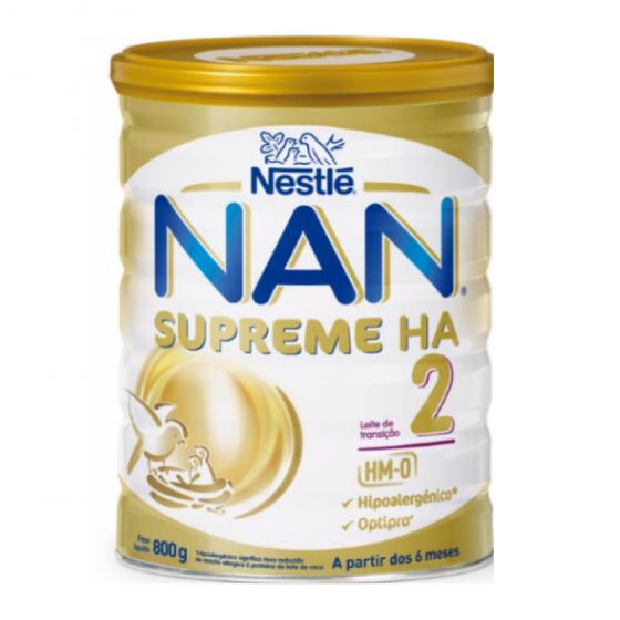 NAN HA 2 LEITE TRANSICAO 800 G