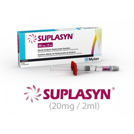 SUPLASYN SOL INJ HIALU SODIO 20MG/20ML