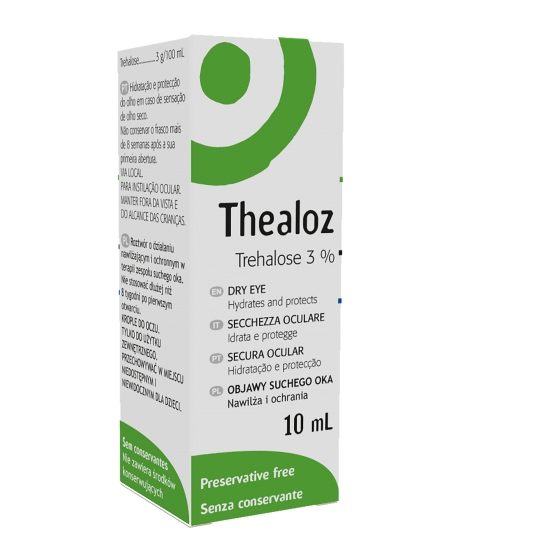THEALOZ SOL OFT 10 ML