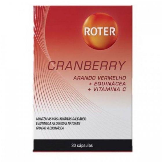 ROTER CRANBERRY CAPS X30