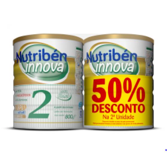 NUTRIBEN INNOVA 2 LEITE TRANS800X2 -50%2UNI