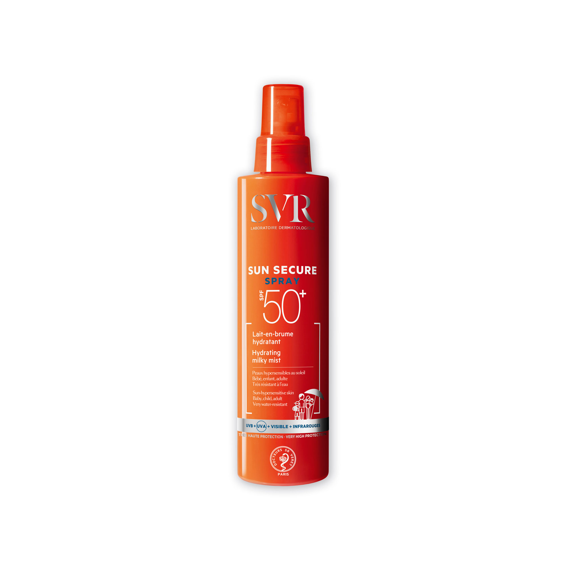 SVR SUN SECURE SPRAY SPF50+ 200ML