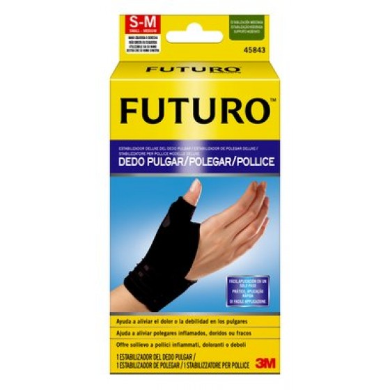 FUTURO POLEGAR SUPORTE ESTAB DELUXE S/M
