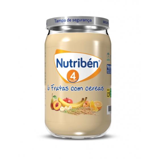 NUTRIBEN BOIAO 6 6 FRUTAS C/CEREAIS 235G