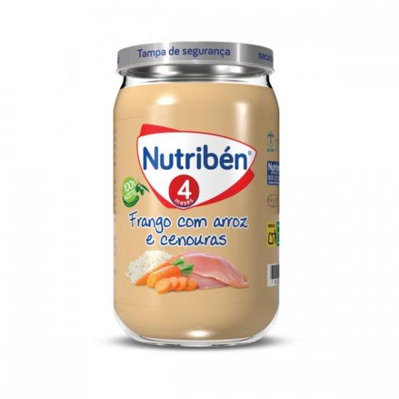NUTRIBEN BOIAO 6 FRANGO ARROZ CENOUR 235G