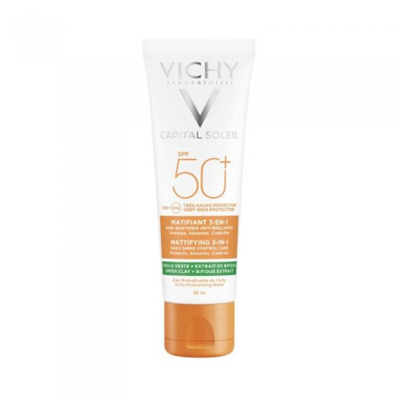 VICHY CAP SOL CR MATIF 3EM1 SPF50+ 50ML