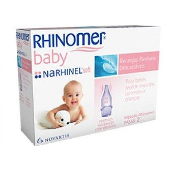 RHINOMER BABY REC FLEXIV DESCART X 10