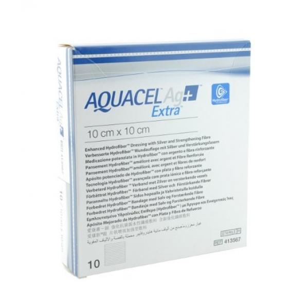 AQUACEL AG+ EXTRA PENSO 10X10 CM X 10