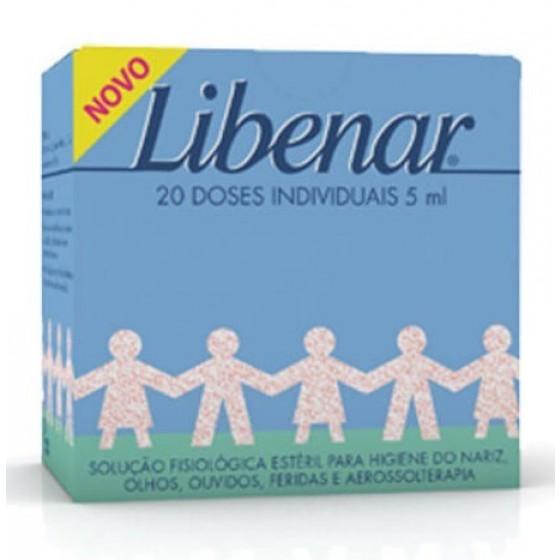 LIBENAR BABY SORO FISIOL ESTERILIZ X20