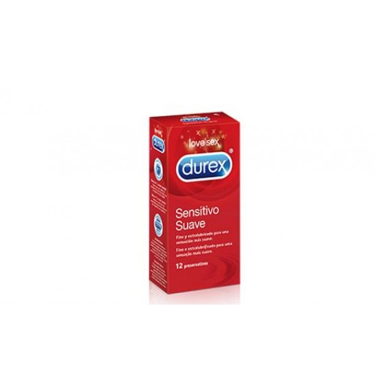 DUREX SENSITIVO PRESERVATIVO EASY ON X 12