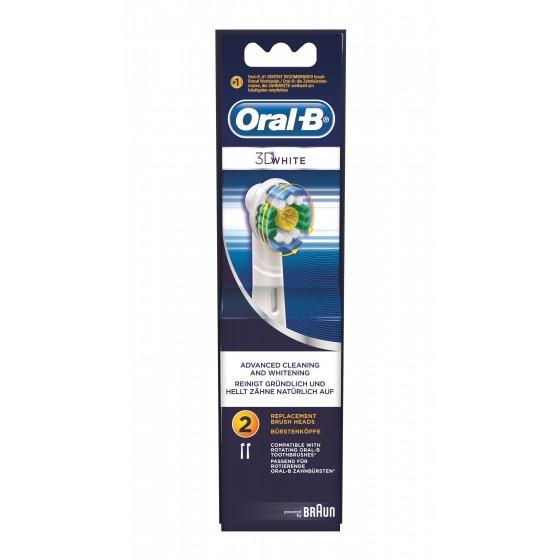 ORAL B 3D WHITE REC ESC ELECT EB18 X 2
