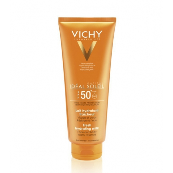 VICHY CAP SOL XL LEITE FPS50+ 300 ML