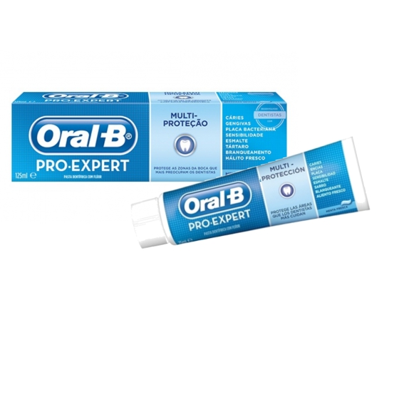 ORAL B PRO EXPERT PASTA MULTIPROTECAO 125ML