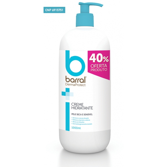 BARRAL DERMAPROTE CR HIDRA 1000 ML