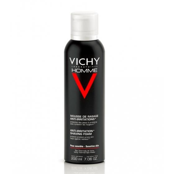 VICHY HOMME MOUSSE SENSI SHAVE 200ML