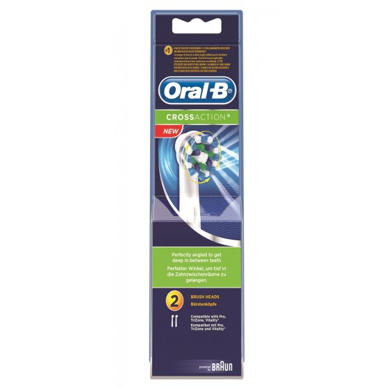 ORAL B CROSSACTIO REC ESC ELECT X2