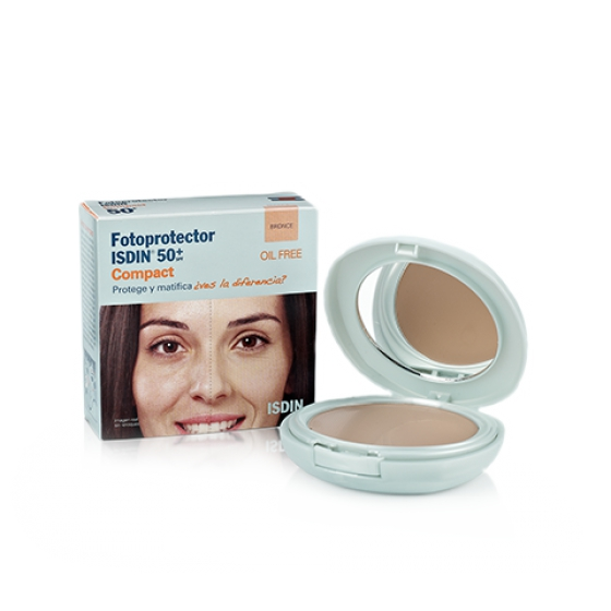 FOTOPROTECTOR ISD COMPACT SPF50+  BRONZ 10G