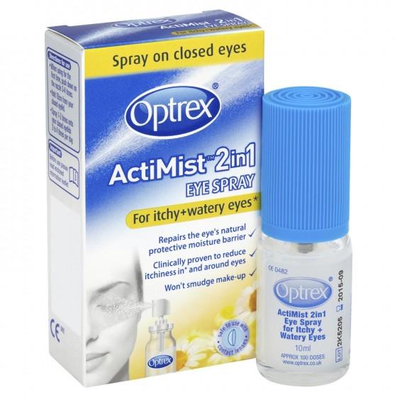 OPTREX ACTIMIST SPRAY OCULAR 2EM1 10ML