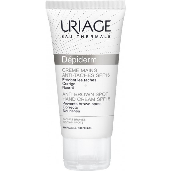 URIAGE DEPIDERM  CR MAOS MANCH SPF15 50ML