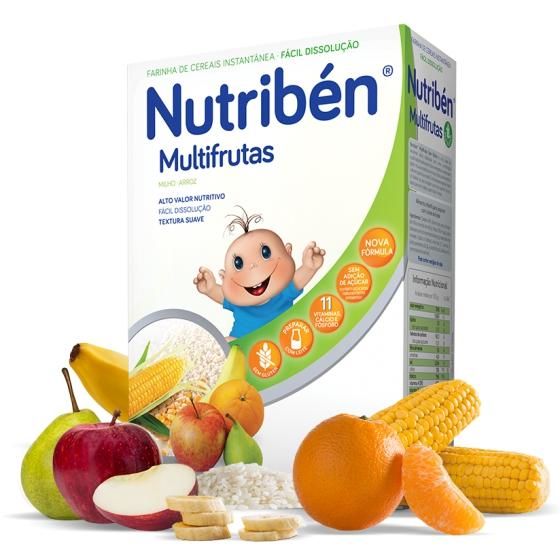 NUTRIBEN FARINHAS MULTIFRUTAS 300G