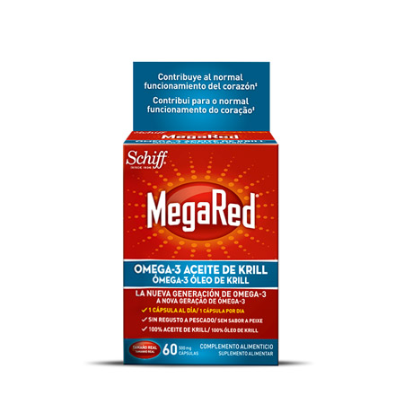 MEGARED CAPS 500MGX30+10 GRATIS CÁPS