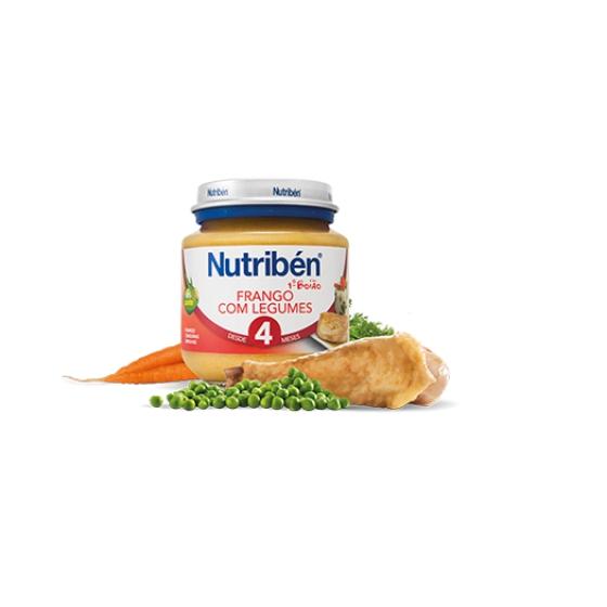 NUTRIBEN BOIAO BOIAO 1 FRANGO LEGU 130 G