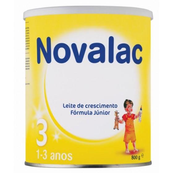 NOVALAC 3 FORMULA JUN BAUNILHA 800G