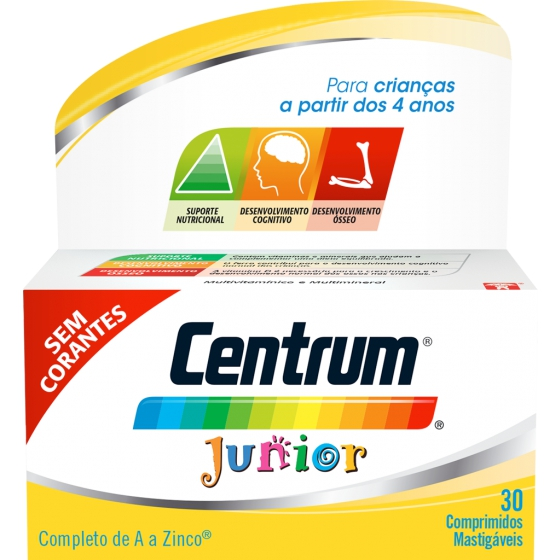 CENTRUM JUNIOR COMP MAST NOVO SAB X 30