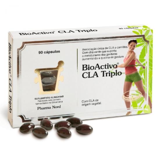 BIOACTIVO CLA TRI CAPS CLA TRIPLO X 90