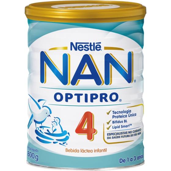 NAN + CRESCIDOS SOL OR LACTEA PO 800 G