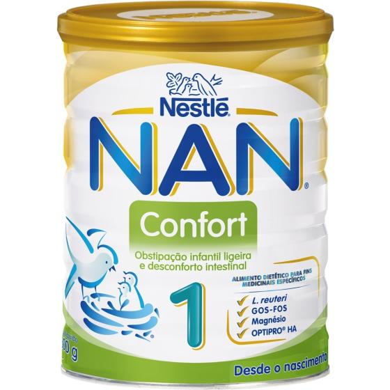 NAN CONFORT 1 LEITE LACTENTE 800 G