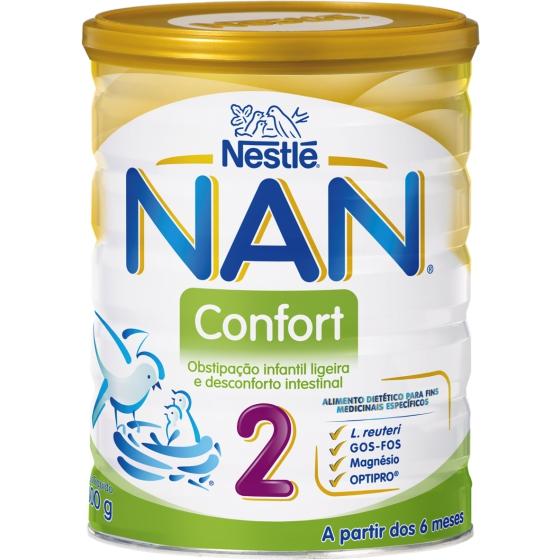 NAN CONFORT 2 LEITE TRANSICAO 800 G