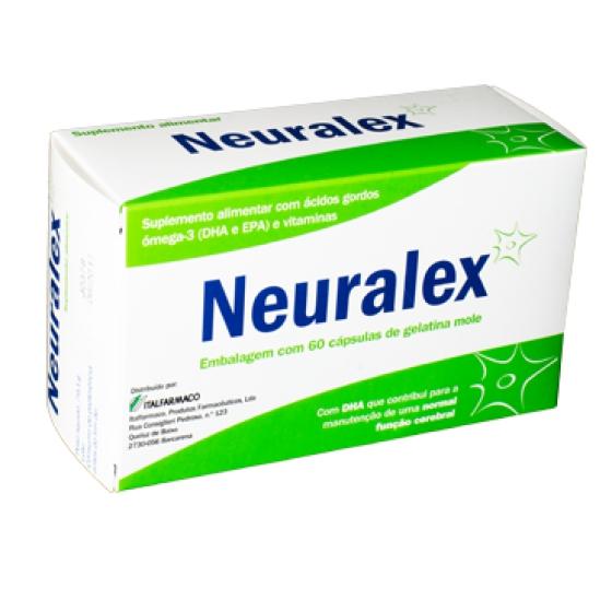 NEURALEX 60 CAPS GELATINA MOLE