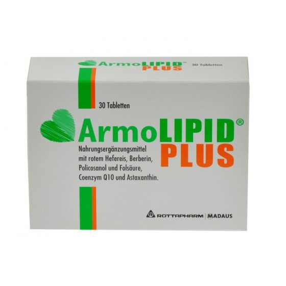 ARMOLIPID PLUS COMP X 30 COMP