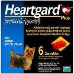 HEARTGARD 30 PLUS COMP CAO < 11 KG X 6