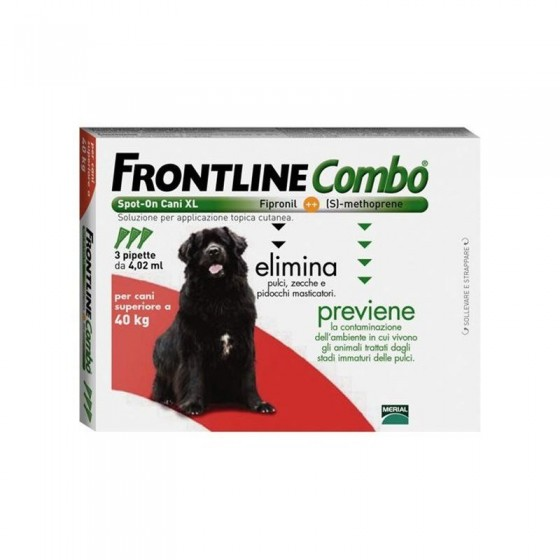 FRONTLINE COMBO SOL CAO >40KG 4,02ML X 1