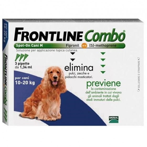 FRONTLINE COMBO SOL CAO 10-20 KG 1,34MLX1