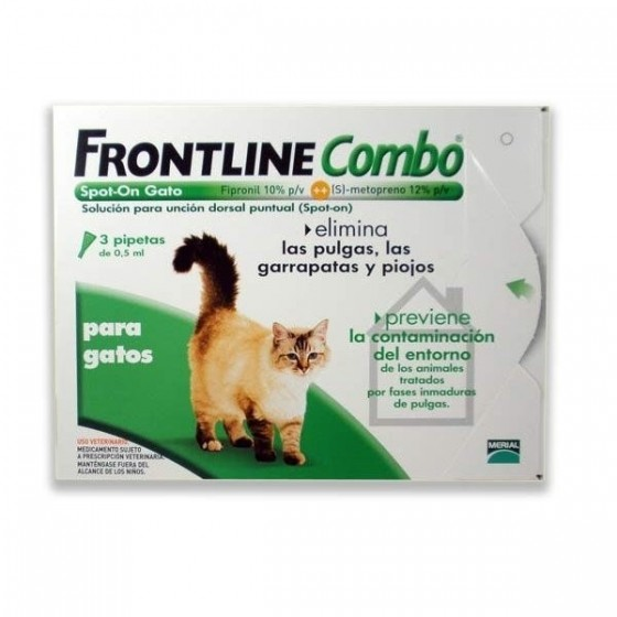 FRONTLINE COMBO SOL TOP GATO 0,5 ML X 3