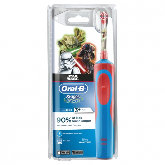 ORAL B BRAUN ESC EL D12 KIDS STAR WARS