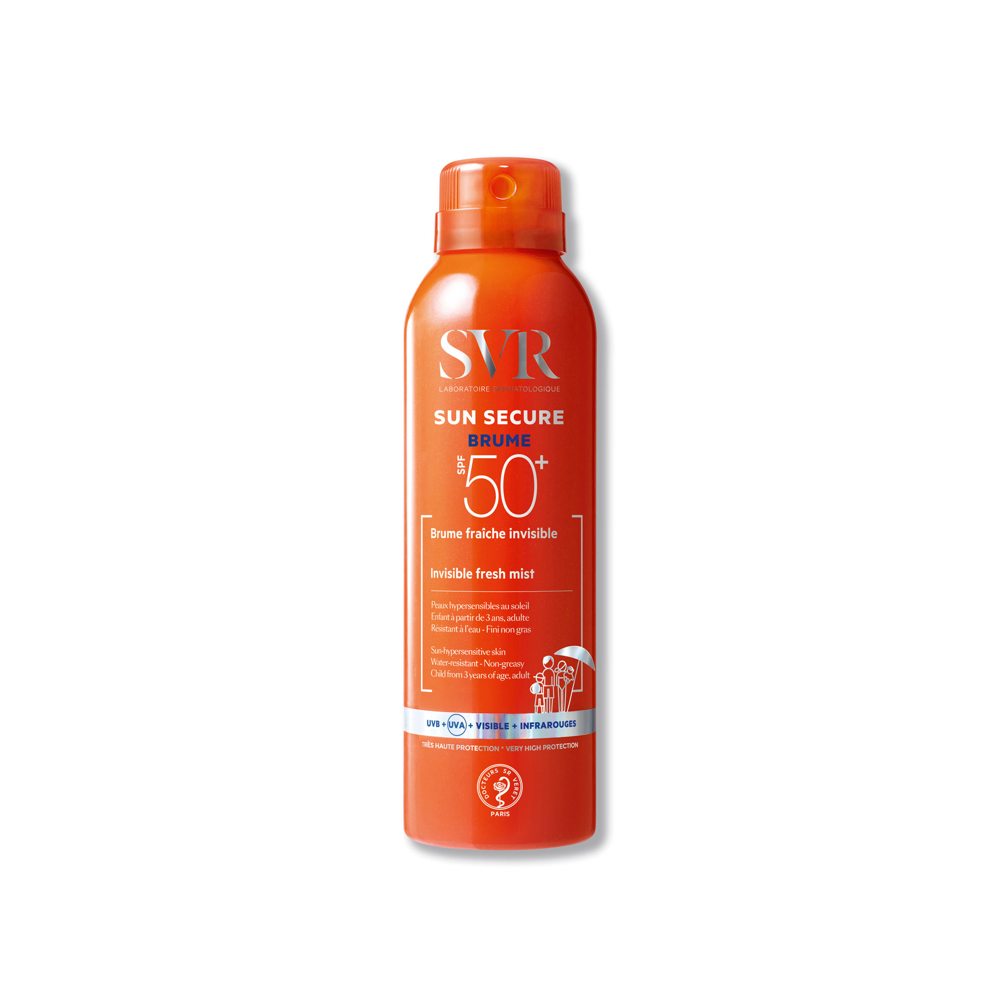 SVR SUN SECURE BRUMA SPF50+ 200ML