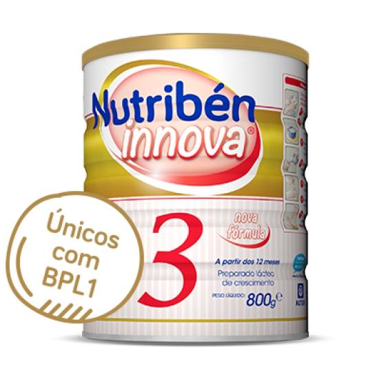 NUTRIBEN INNOVA 3 LEITE CRESCIMENTO 800G